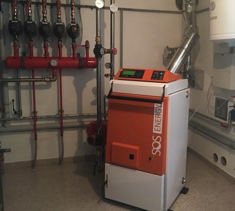 Caldaia a legna 20 kW