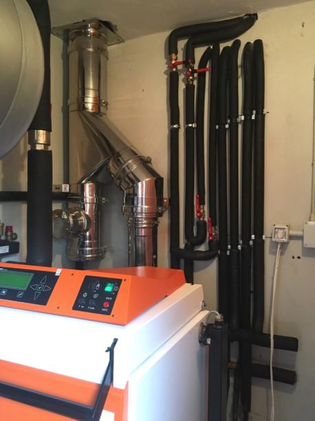 Caldaia a gassificazione di legna 20 kW