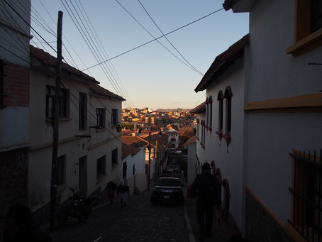 Sucre, la ville coloniale...
