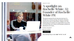 Rochelle White PR London and Milton Keynes based Consumer and Lifestyle PR agency