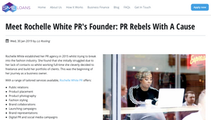 Rochelle White PR London and Milton Keynes based Consumer and Lifestyle PR agency