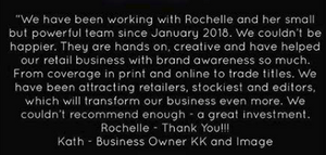 London PR agency Rochelle White PR