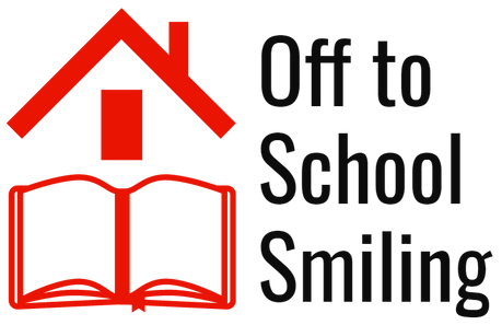 Off to School Smiling logo