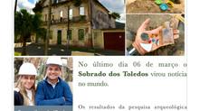 Sobrado dos Toledos Ganha o Mundo