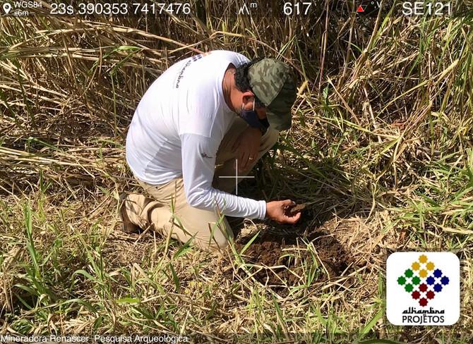 Pesquisa Arqueológica em Guararema