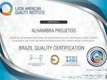 Alhambra Projetos receberá o prêmio de empresa brasileira do ano 2021