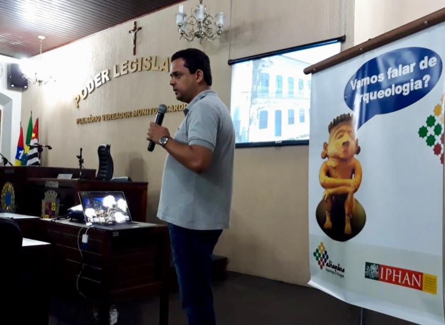 Audiência pública sobre patrimônio na Câmara Municipal de Iguape - SP.
