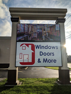 LED windows doors more