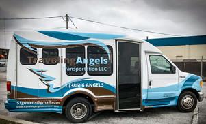 Travelling Angels Van wrap