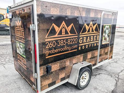 Graber roofing trailer