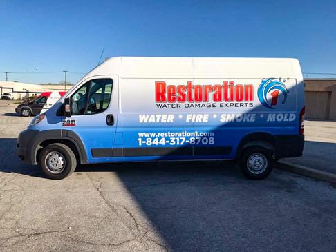 Restoration Van Wrap