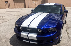 Mustand Racing Stripes