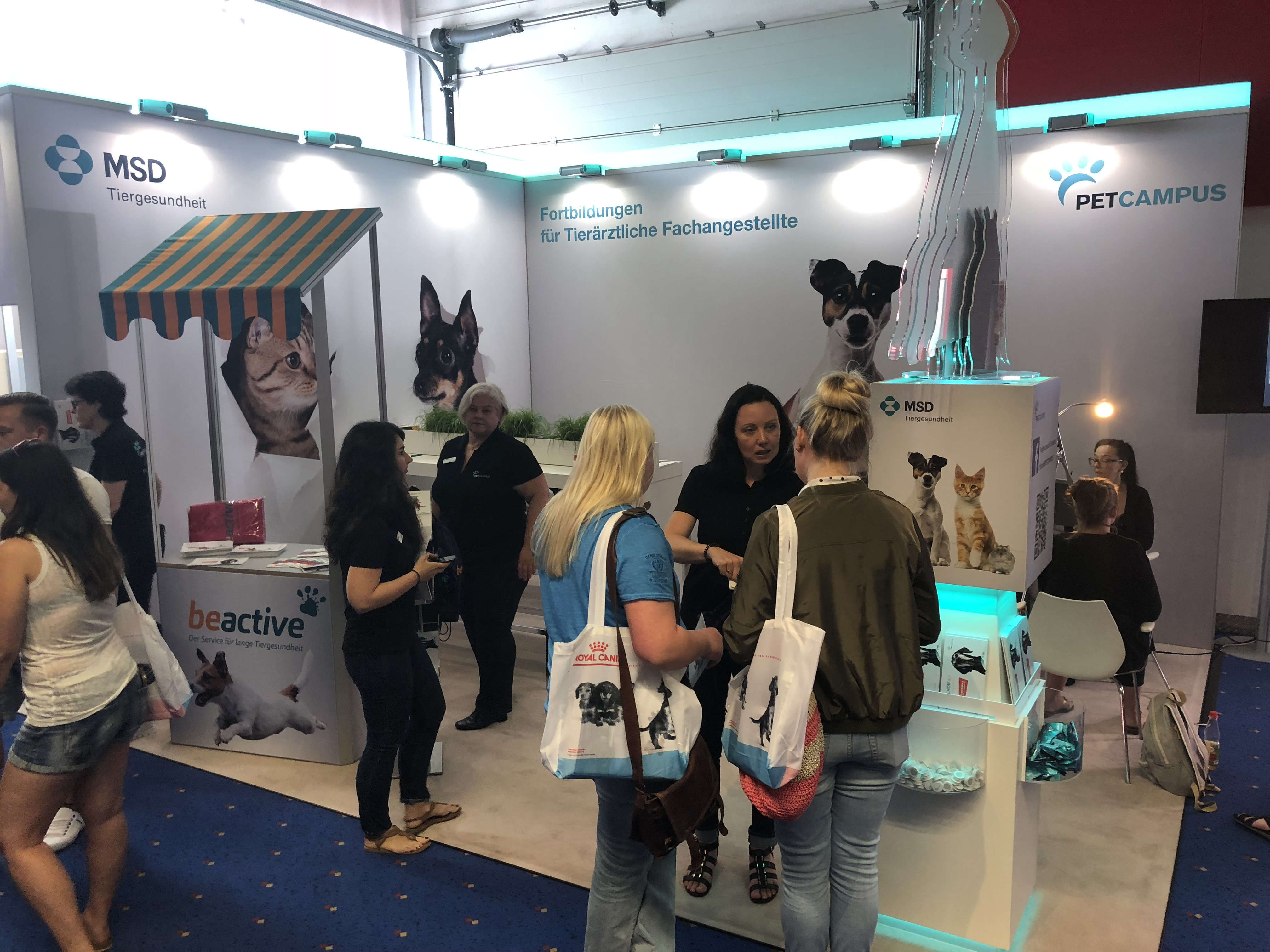 PETCAMPUS MSD Stand
