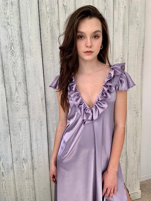Lavender Dress - Long dress