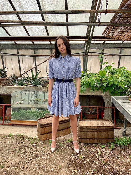 Amelia - Abito camicia corto