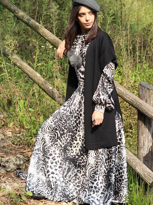 Rosalia - Gonna a ruota fantasia Etna