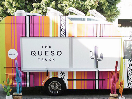 The Queso Truck in Knight Park!