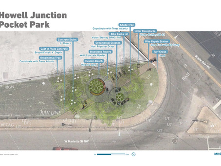 Westside CID Pocket  Park Planned for Brady and West Marietta St