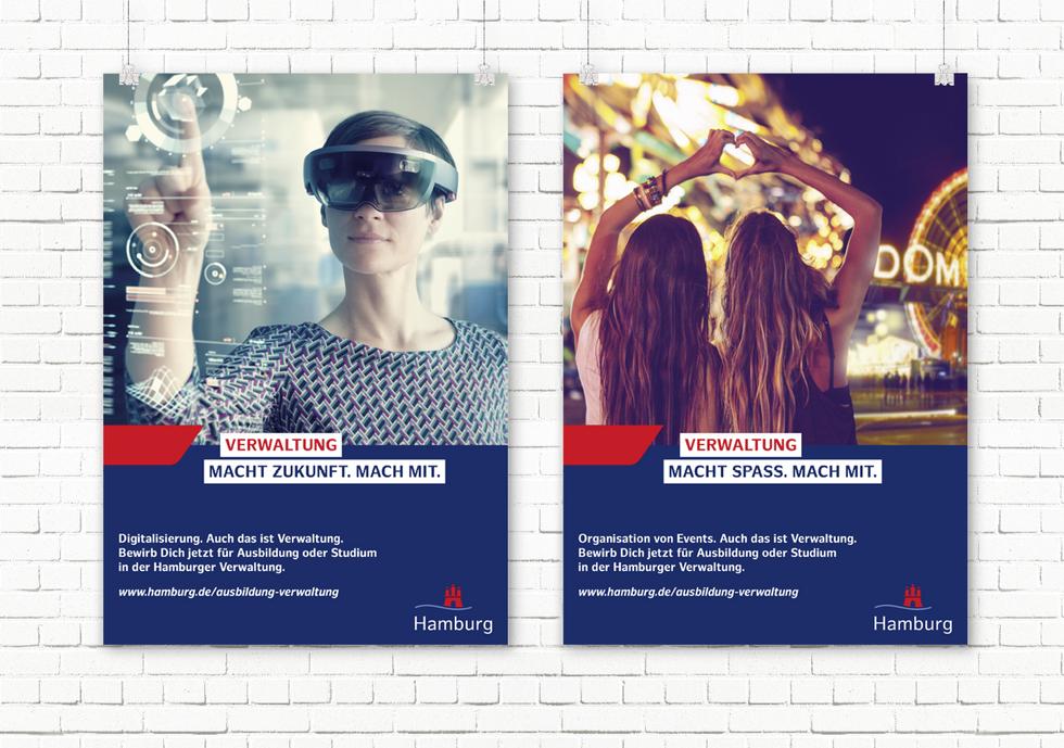 ZAF Hamburg Recruitingkampagne