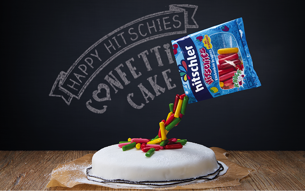 Hitschler Confetti Cake