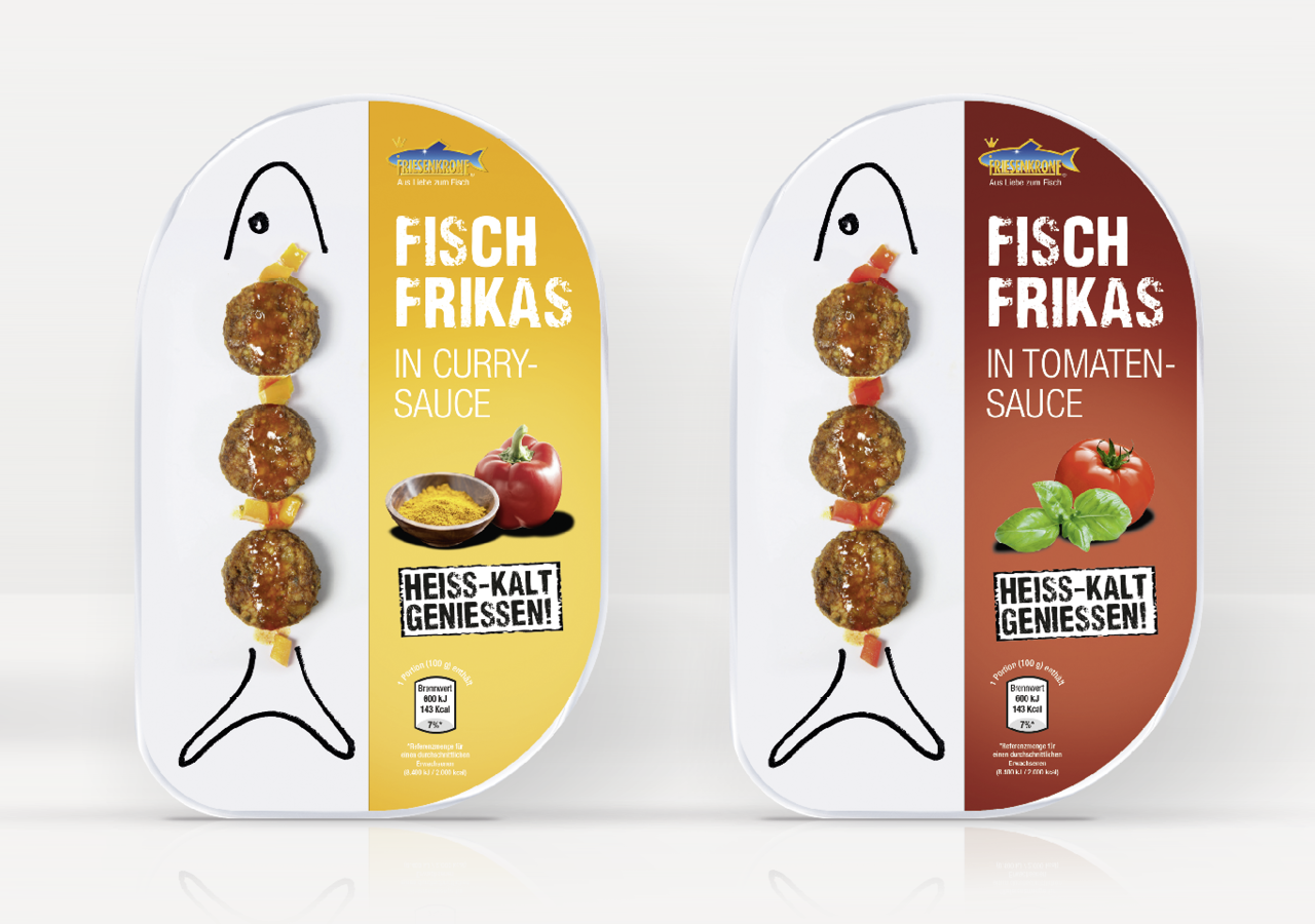Fisch Frikas von Friesenkrone  – Packaging Design