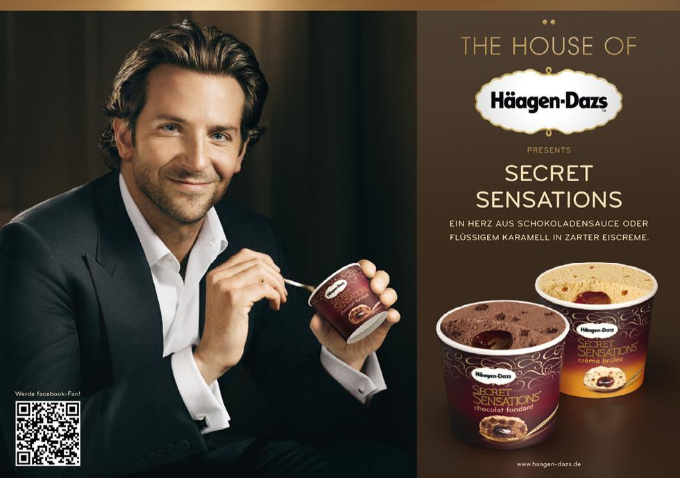 Häagen Dazs Kampagne mit Bradley Cooper