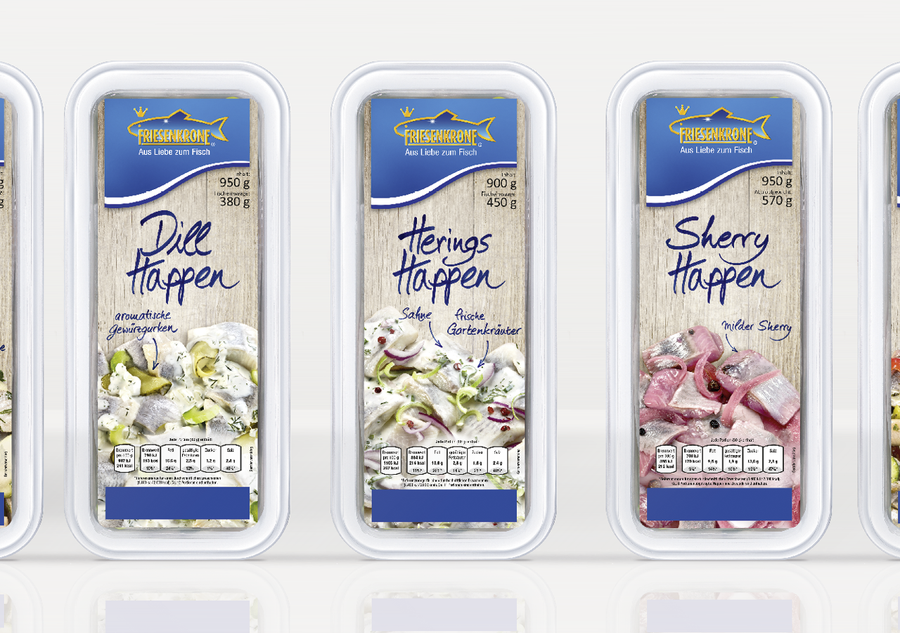 Fisch Happen von Friesenkrone - Packaging Design