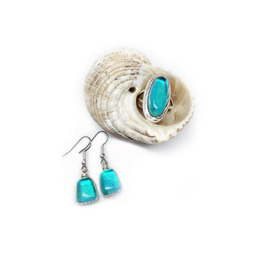 Caribbean Blue Ring