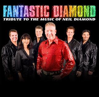 Fantastic Diamond - on black with logo (