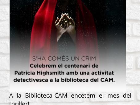 Encetem el mes del thriller a la Biblioteca-CAM!