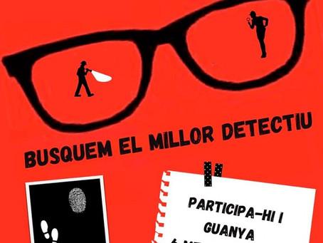 El mes del thriller està a punt d'acabar.  Aviat sabrem que és el millor detectiu de l'escola...