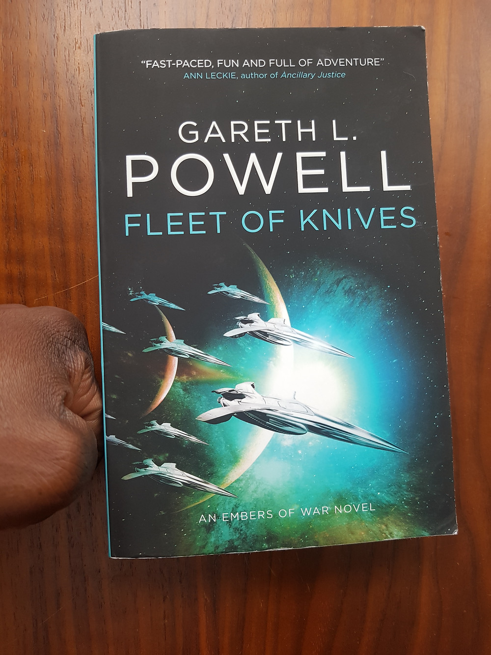 Cover of Fleet of Knives by Gareth L Powell