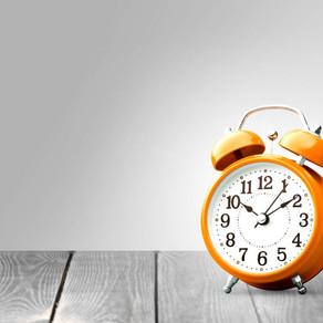 On missing my self-imposed deadline