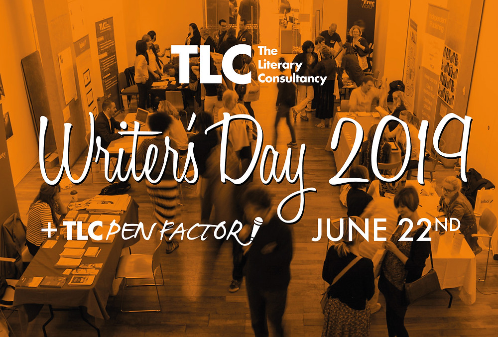 Flyer for TLC Writers Day 2019