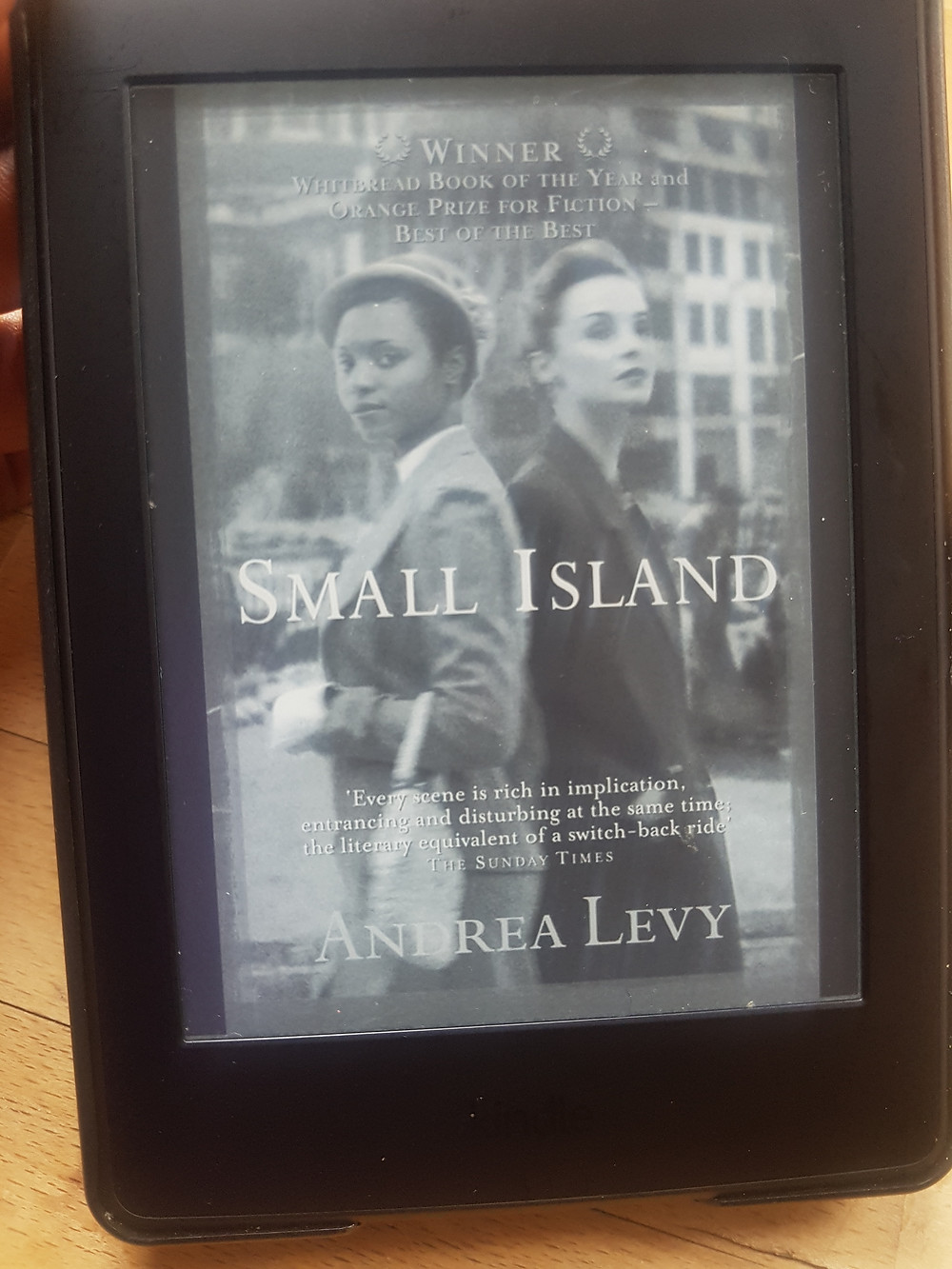 The cover of Small Island by Andrea Levy