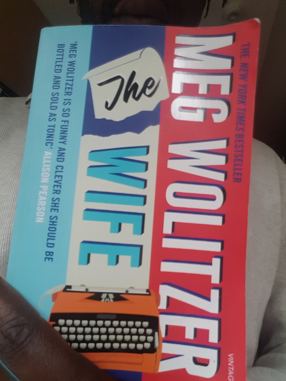 """The cover of the novel, """"The Wife."""""""