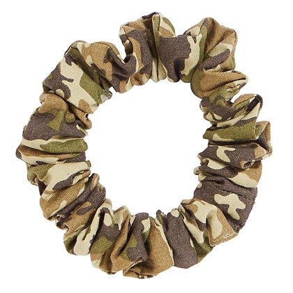 France Luxe Camouflage Scrunchie