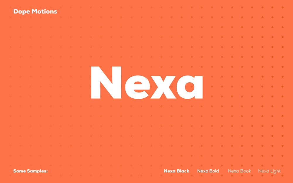Nexa for Titles by DopeMotions
