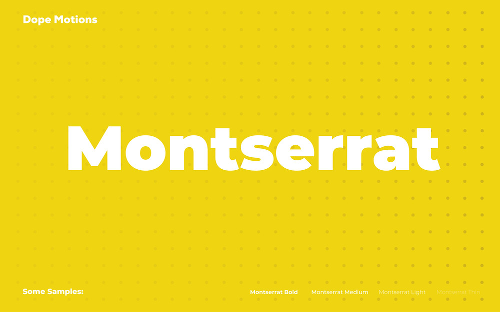 Montserrat Choice by Dopemotions