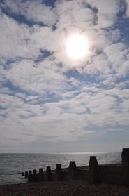 Moment of peace on Brighton Beach