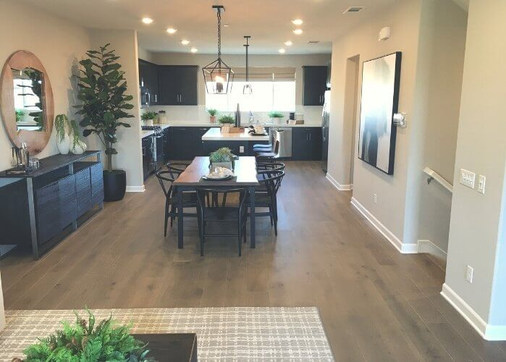 New Oceanside homes in Ventana at El Corazon