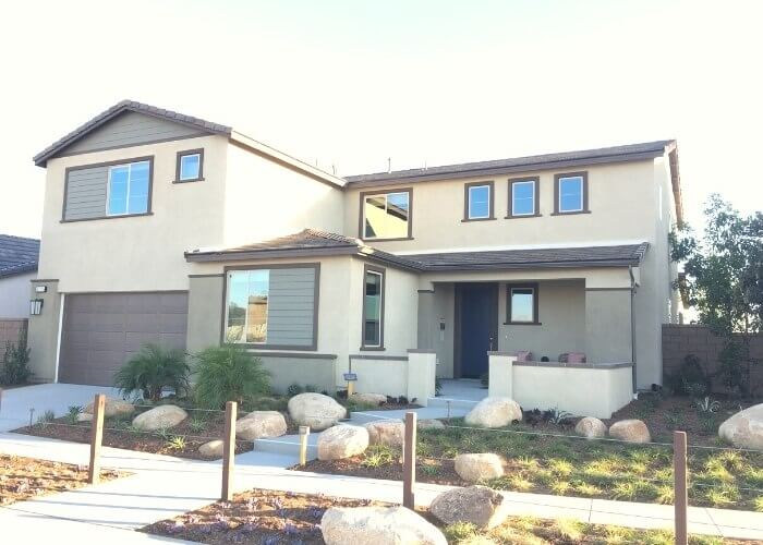 New homes at Overland at Spencer's Crossing in Murrieta California