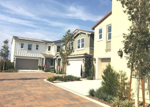 New Homes at Poppy AT CANVAS PARK in Ontario California
