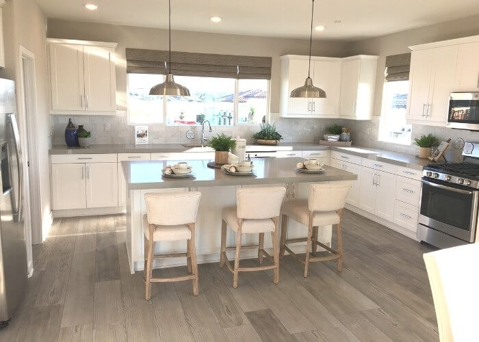New Oceanside homes in Ventana at El Corazon kitchen