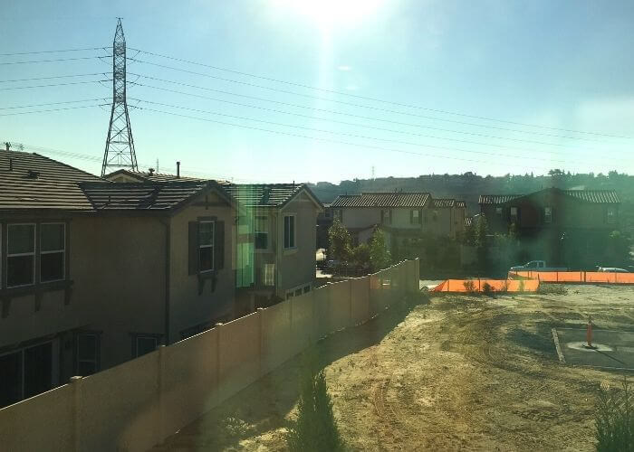 View of powerlines