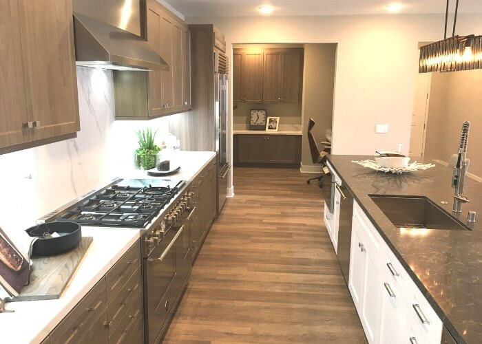Kitchen - single level new homes in Carlsbad Carlyle