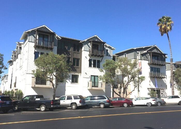Exterior - single level new homes in Carlsbad Carlyle