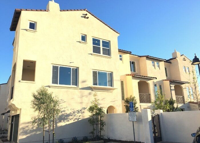 New Homes at Westside Walk in Costa Mesa