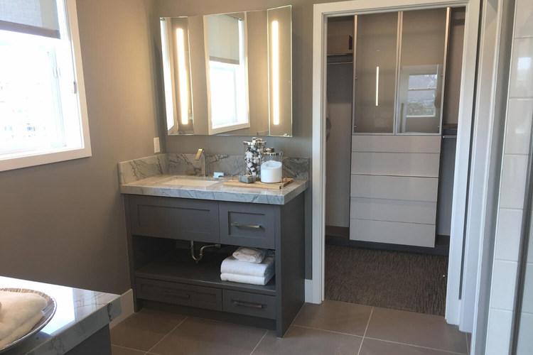 Master Bath and Closet