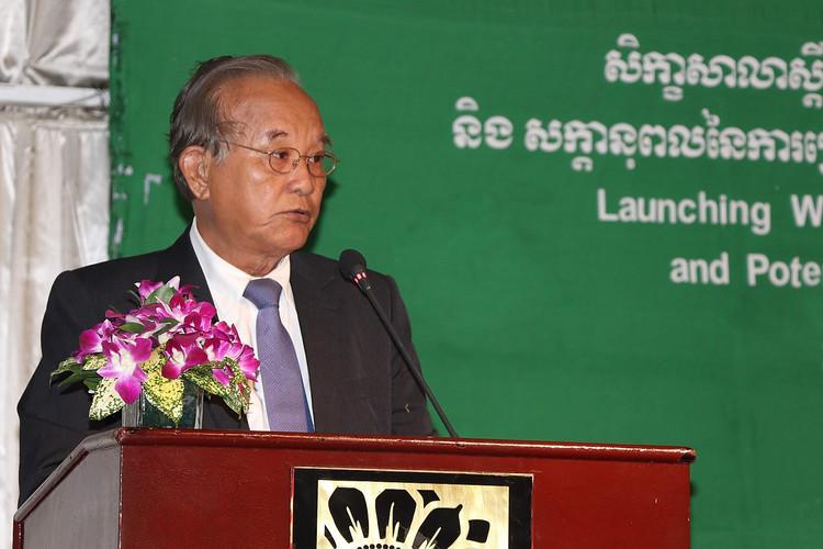 H. E. Prof Heng Huot, Ministry of Health